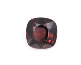 CERTIFIED 3.15ct. RED SPINEL (MOGOK) CUSHION CUT