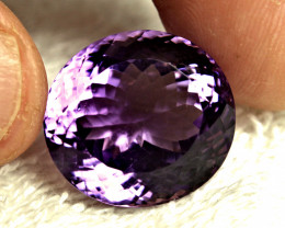 38.2 Carat Brazilian VVS Purple Amethyst - Gorgeous
