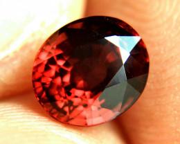 3.0 Carat Fiery African Rhodolite Garnet - Beautiful