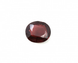 CERTIFIED 4.73ct. RED BURMESE SPINEL - OVAL CUT