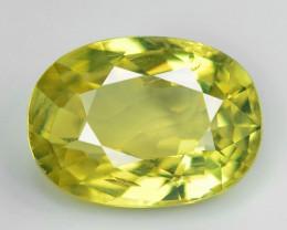 1.35 CT CHRYSOBERYL RARE GEMS QUALITY CR12