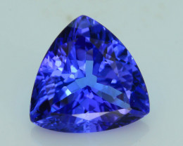 AAA Grade 1.60 ct Tanzanite eye catching Color SKU.13