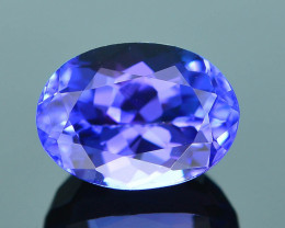 AAA Grade 1.10 ct Tanzanite eye catching Color SKU.13