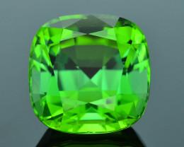 AIG Cert Afghanistan Tourmaline 8.42 ct Apple Green AAA Grade SKU.29