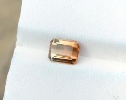 1.35 Ct Natural Bi Color Transparent Tourmaline Ring Size Gemstone
