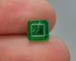 1.60 ct Natural Vivid Green Color Emerald~Swat ~ T