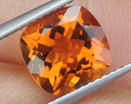 "2.81cts Certified ""Craylola Orange"" Citrine,  Top Color"
