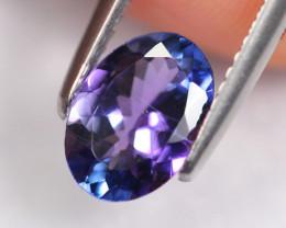 1.31cts Natural Violet Blue D Block Tanzanite / AA43