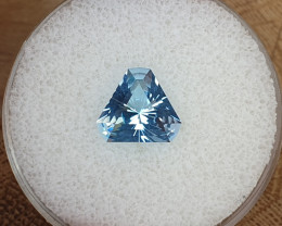 3,90ct Sky blue Topaz - Master cut!