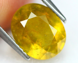 4.00Ct Ceylon Greenish Yellow Sapphire B0503
