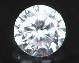 2.10mm F Color VS Natural Loose White Diamond