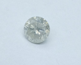 0.80ct  K-I1 Diamond , 100% Natural Untreated