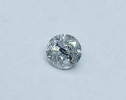 0.31ct  H-I2 Diamond , 100% Natural Untreated