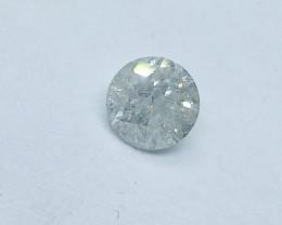0.46ct K-I2  Diamond , 100% Natural Untreated