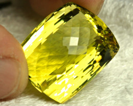 65.5 Carat African VVS Lemon Quartz - Gorgeous