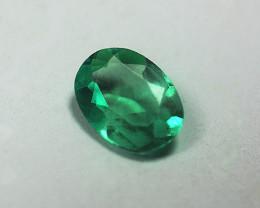1.43 ct Gorgeous Top Zambian Emerald Certified!