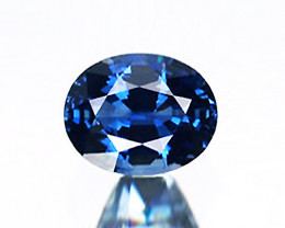 2.12 ct BGL Certified Unheated Blue Sapphire