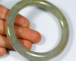 Jadeite Jade Bangle Bracelet 204.5ct. 52.5mm