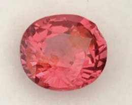 Glittering Gorgeous Bright Orangey Red Spinel - Vietnam G537 H698