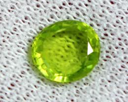 2.20 CT Natural - Unheated  Green Peridot Gemstone