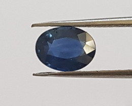 Certified 1.41 Blue Sapphire (Heat Only) #G0068