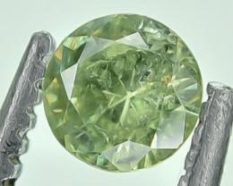 0.25 Crt Natural Demantiod Faceted Gemstone.( AG 39)