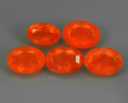 2.30 CTS BEST QUALITY~TOP COLOR EXTREME WONDER LUSTROUS GENUINE FIRE OPAL!