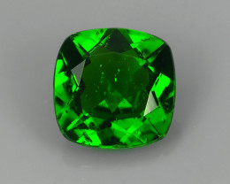 1.35 CTS WOW!! NATURAL ULTRA RARE CHROME TOP GREEN DIOPSIDE RUSSIA~