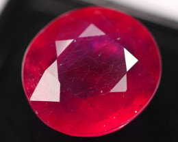 20.13Ct Huge Size Madagascar Pigeon Blood Red Ruby E0611