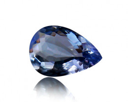 1.77 ct Gorgeous Top Color IF Natural Tanzanite Certified