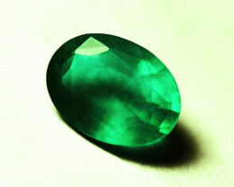 2.67 ct Magnificent Natural Emerald Certified!