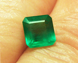 2.03 ct Majestic Natural Emerald Certified!