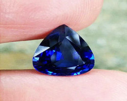 SLP certified 1.38 ct Untreated/Unheated Gorgeous Blue Sapphire