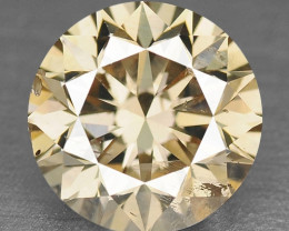 0.47 Cts Untreated Natural Fancy Pinkish Brown Color Loose Diamond