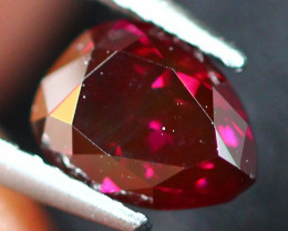 0.39Ct Natural Vivid Purplish Red Fancy Diamond E0702