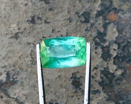 4.50 Ct Natural Greenish Transparent Tourmaline Gemstone