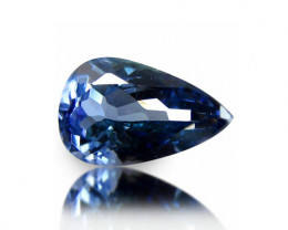 1.33  ct Gorgeous Top Color IF Natural Tanzanite Certified