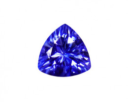 0.80 ct Top ! Gorgeous  Color IF Natural Tanzanite Certified