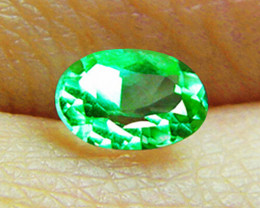 GIA Certified 1.60 ct Magnificent High-End IF-VVS Clarity Colombian Emerald