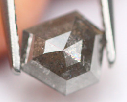 0.98Ct Natural Untreated Fancy Rose Cut Diamond A0808