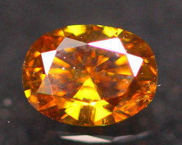 0.22Ct Natural VS Champagne Untreated Fancy Diamond A0809