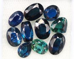 8.85Ct Natural Blue Color Australian Sapphire E0805
