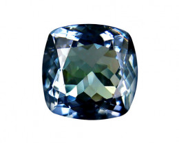 1.55 ct Gorgeous Top Color IF Natural Tanzanite Certified