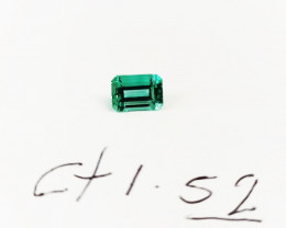 1.52 ct Colombian Emerald  (Untreated)