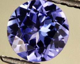 Majestic 1.73 ct Natural Tanzanite Certified Top Stone!