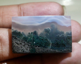 Beautiful Moss Agate*