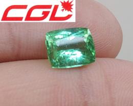 CGL-GRS Unheated 2.97 CT Lagoon Blue-Green Kunar Tourmaline $397
