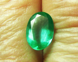 1.25 ct Lovely Natural Emerald Certified!