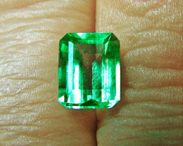 1.93 ct Gorgeous Top Zambian Emerald Certified!