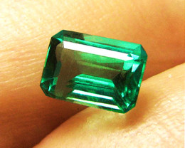 2.16 ct  Magnificent Top Of The Line Emerald Certified!